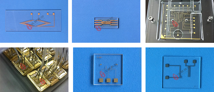 gold-plated / electrode chip