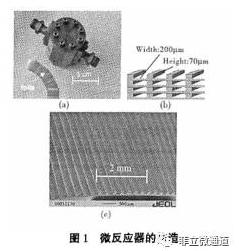 微反应器的制造