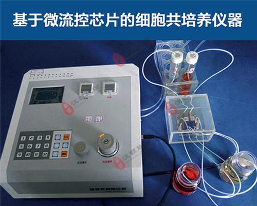 基于微流控芯片的细胞共培养仪器