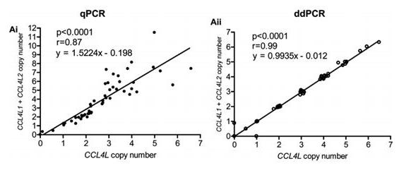 连续拷贝数(例如5拷贝和6拷贝)的区分
