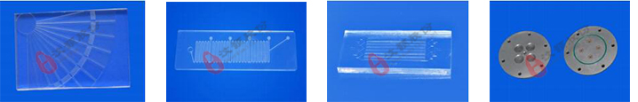 玻璃/石英/硅芯片PMMA/PC/PET芯片PDMS芯片金属铜/铝/合金芯片