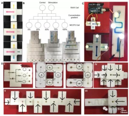 图3.几种典型的芯片模块