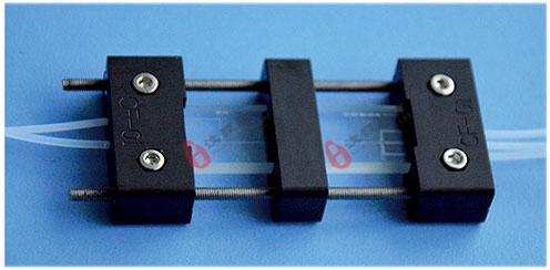 微流控双芯片和夹具双乳液微液滴芯片