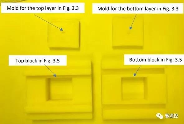 用于PDMS层的3D打印模具和滑动组件,由该大学工程工作室制造