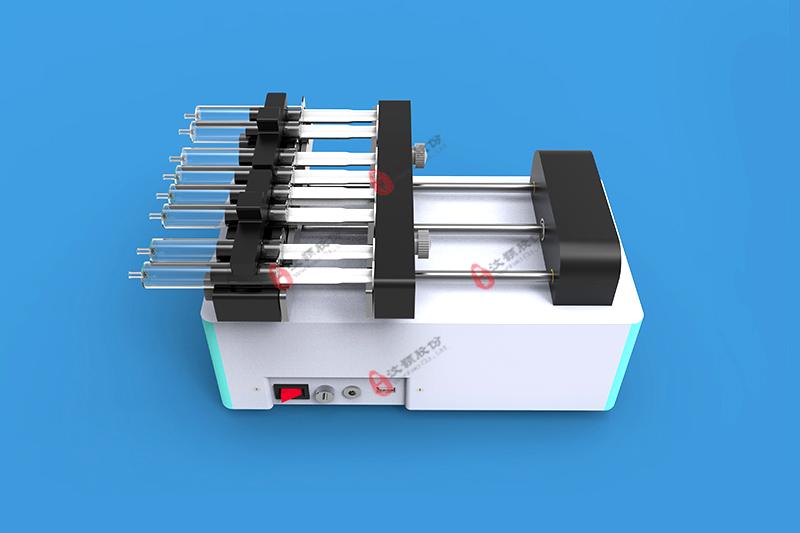 八通道微量注射泵外观图