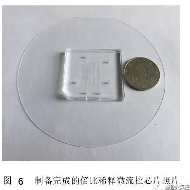 微流控芯片照片