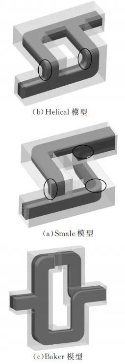 图4分合式通道流动混合示意图