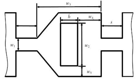 图1混沌式微混合器结构示意图