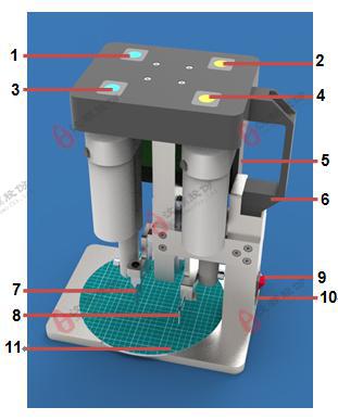 PDMS电动切割打孔机