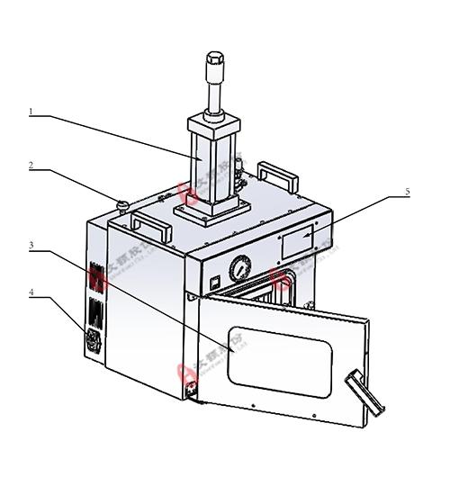 WH-2000B 真空热压键合机示意图1