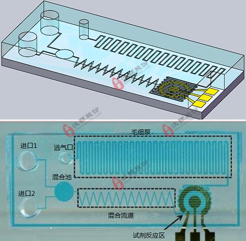 基于电化学检测的微流控芯片委托开发