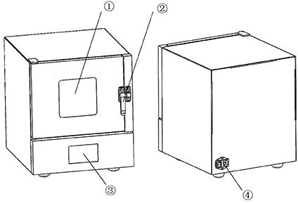 实验室小型烘箱特征图解