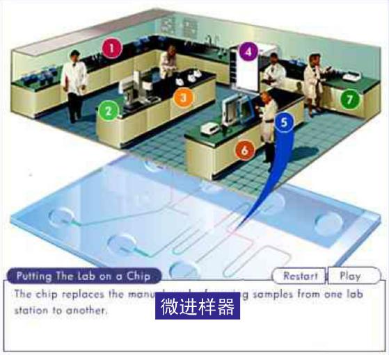 微流控芯片实验室 - 微进样器